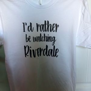 I'd Rather Be Watching Riverdale Tee Shirt
